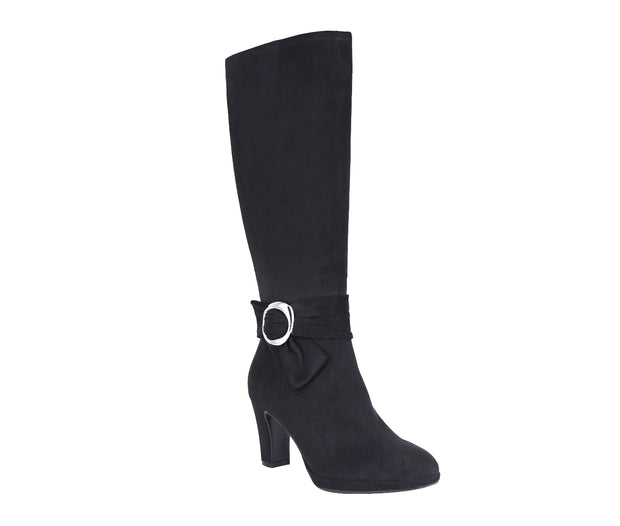 Vincent Stretch Platform Boot with Memory Foam