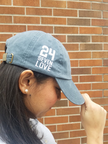 24/7/LOVE Navy Hat