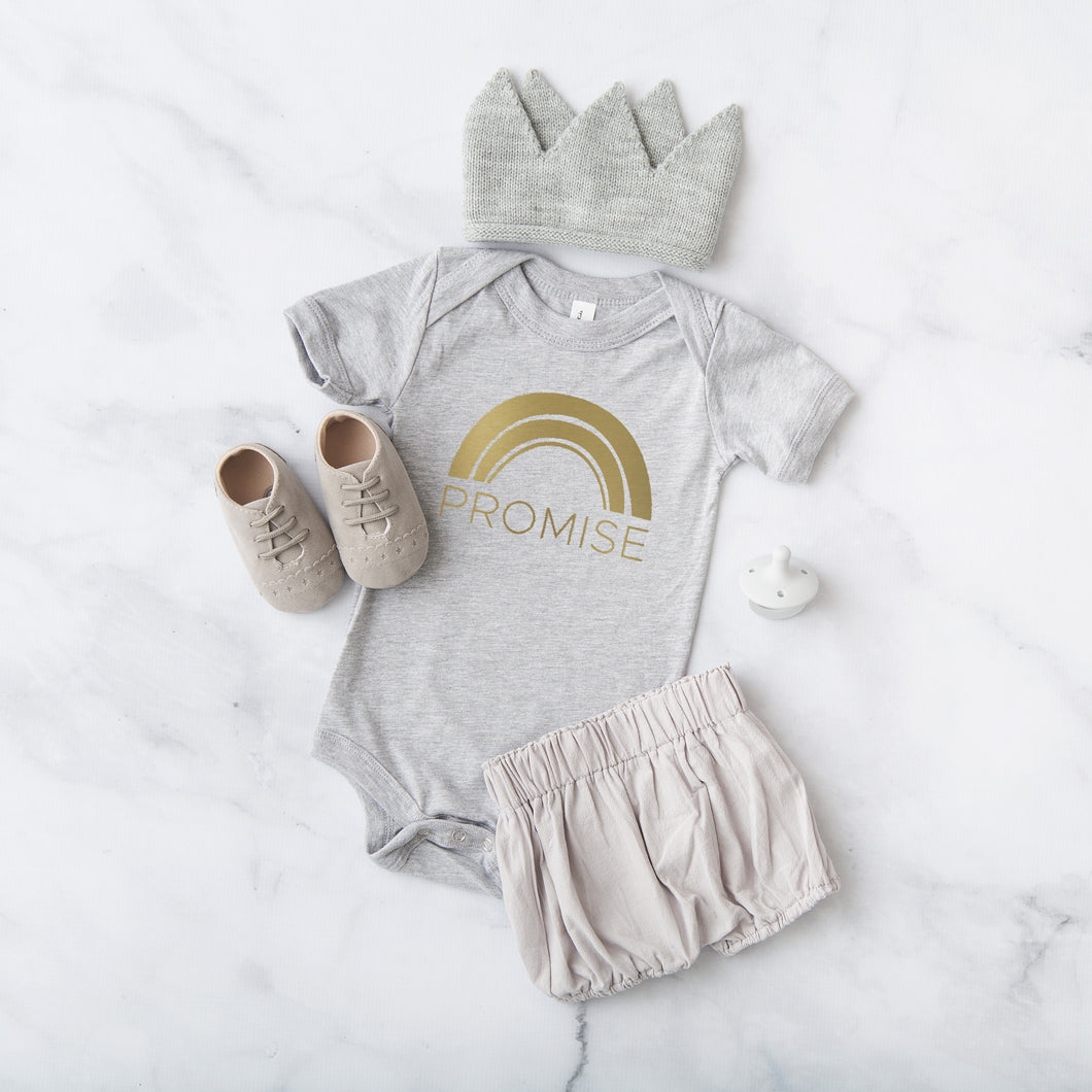 Promise.- Unisex Infant Onesie Various Colors