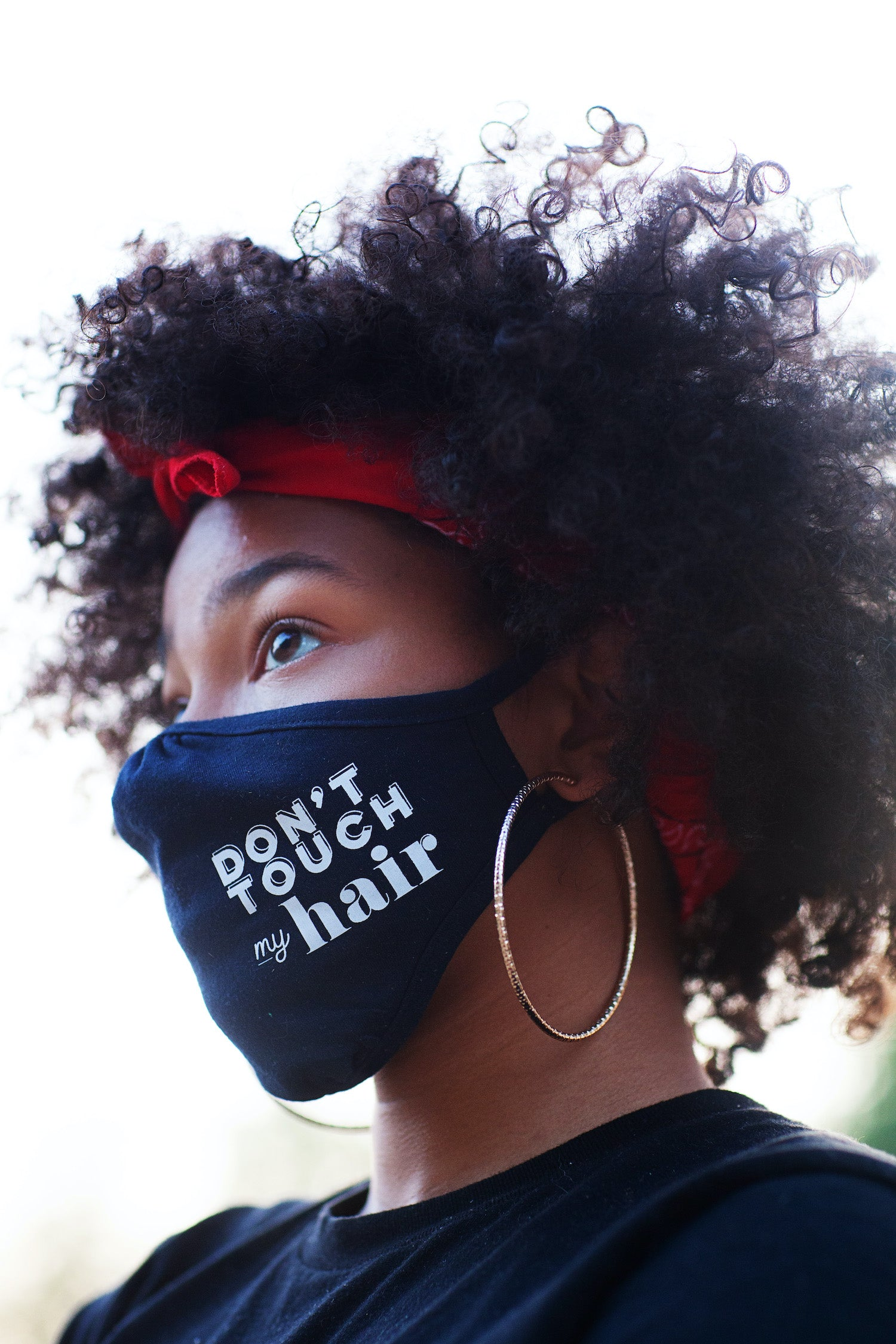 Don't Touch My Hair Face Mask- Adult and Youth Sizes