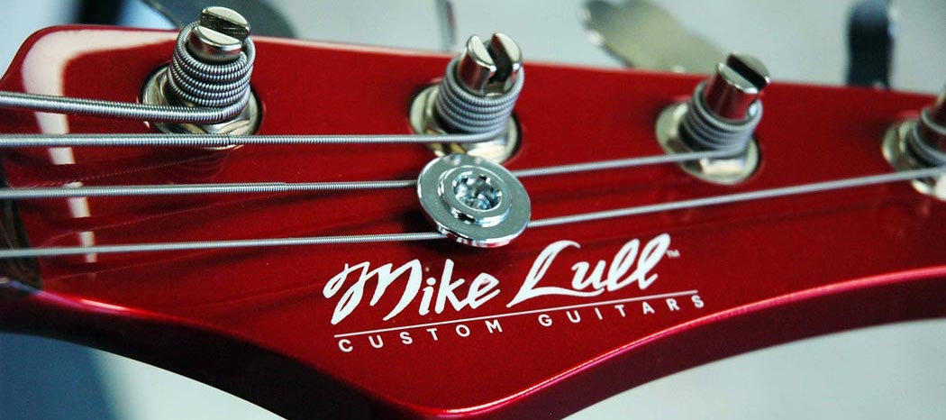 Decal Mike Lull Custom Guitars Sticker