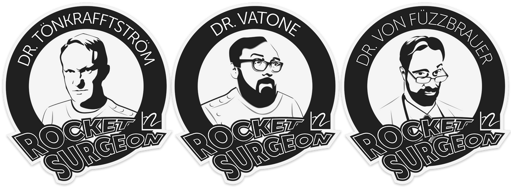 Rocket Surgeon Doctor Trio