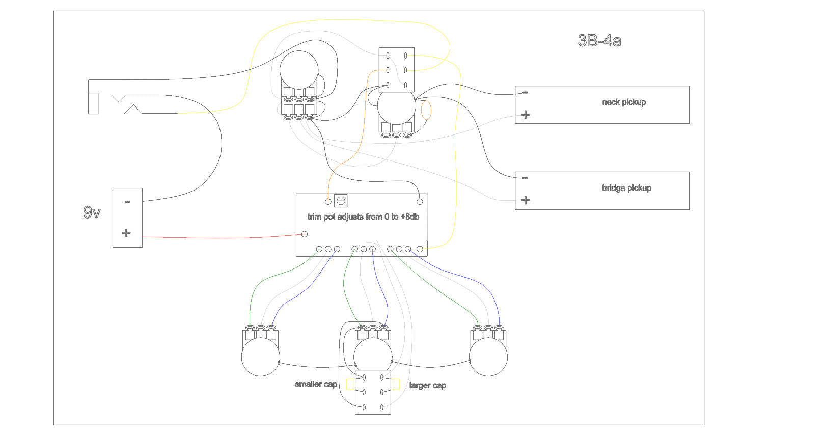 Preamp Wiring Diagrams and Schematics Nordstrand Audio
