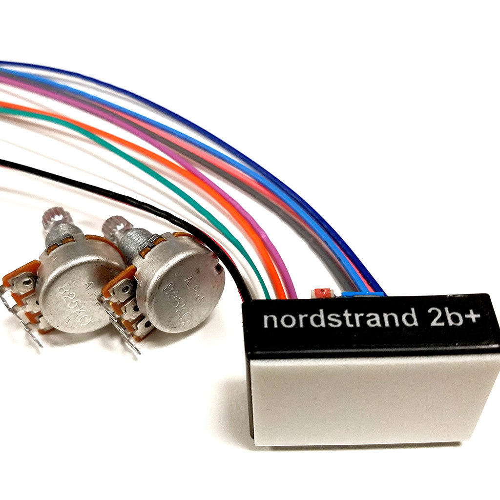 2B+ Preamps - Nordstrand Audio on