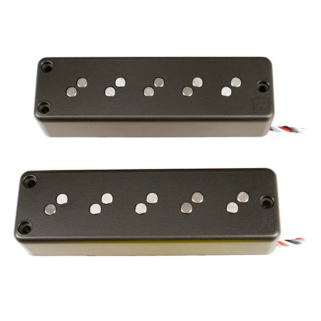 Nordstrand 5 String Soapbar Bass Pickups Fat Stack 5