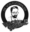 Rocket Surgeon Dr Von Füzzbrauer Sticker