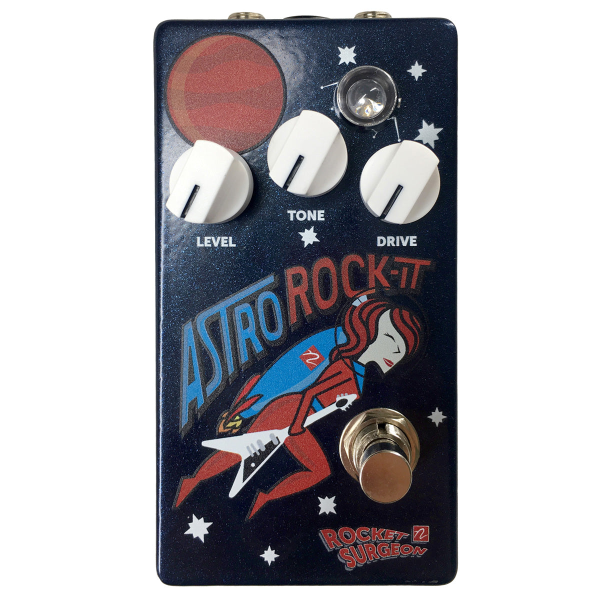 Astro Rockit Overdrive Guitar Effect Pedal