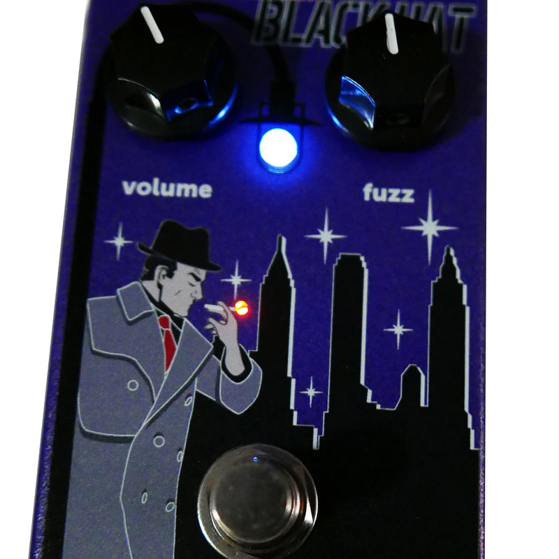 codename black hat guitar effect fuzz pedal nordstrand audio. Black Bedroom Furniture Sets. Home Design Ideas