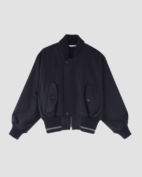 BEATON - Wool bomber jacket