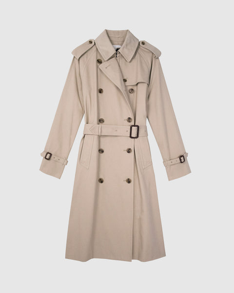 NORMA - Water resistant cotton trenchcoat