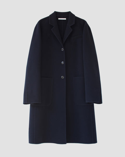 SANDER - Double face wool coat