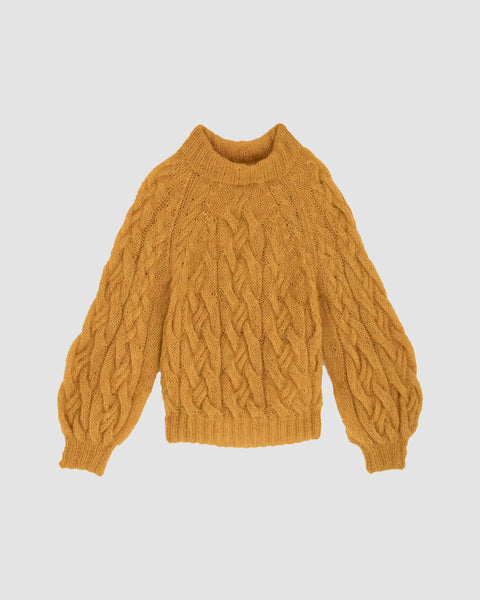 UNAMI - Cable sweater