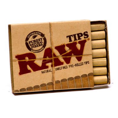 RAW TIPS....PRE-ROLLED