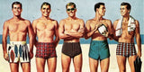 100 YEARS: THE EVOLUTION OF MEN'S SWIM TRUNKS