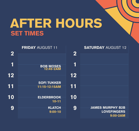 Splash House After Hours Lineup And Set Times