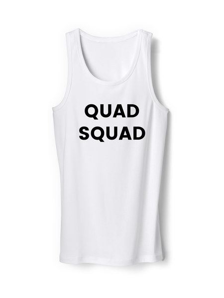 Quad Squad Funny Mens Tank Top Shirt