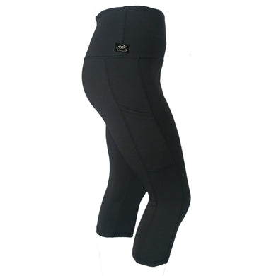 Pocket Capri, Black