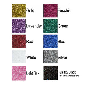 Group Order of Armbands (10+)-Glitter
