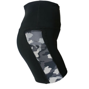 Pocket Lift Short, Grey Camo