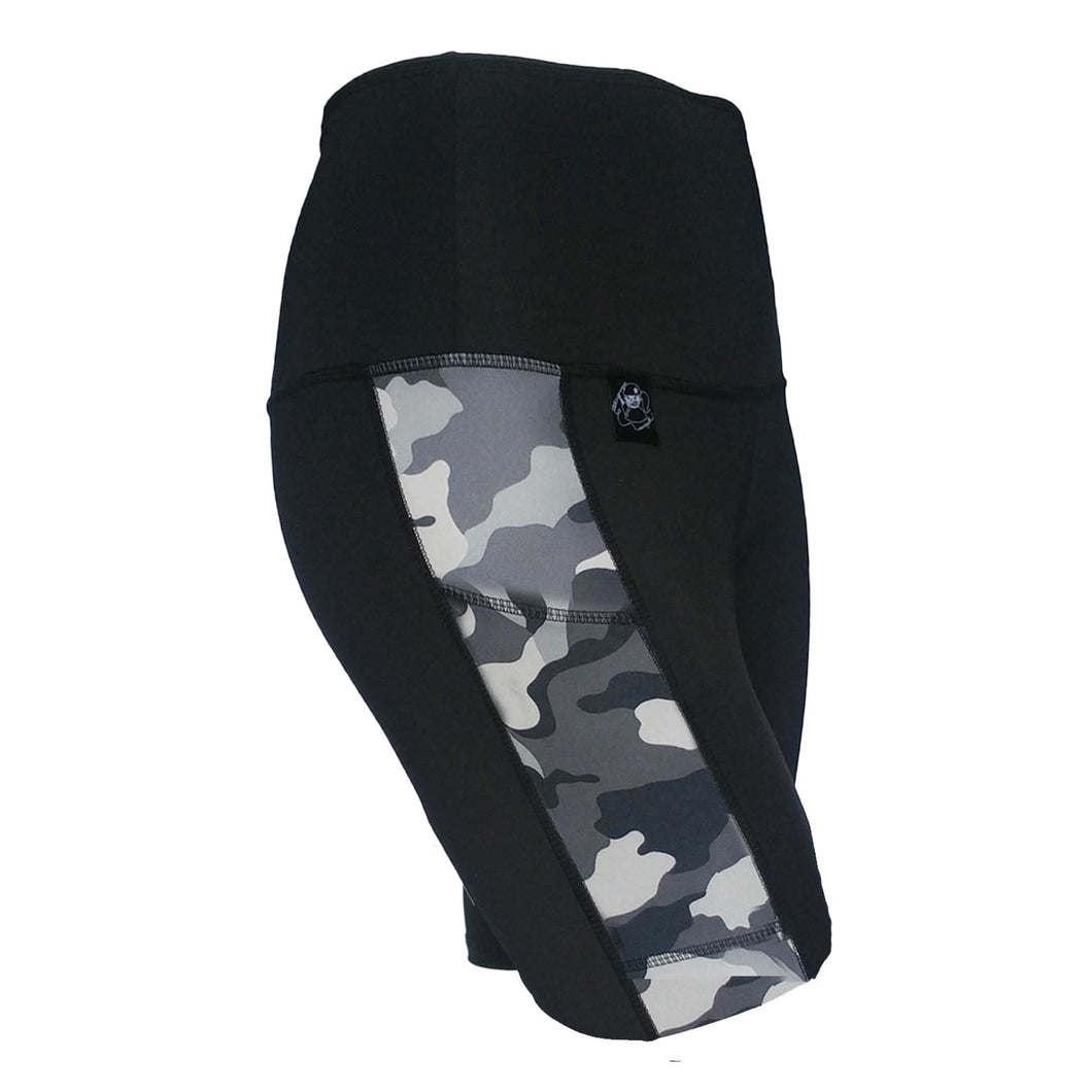 Pocket Skate Short, Grey Camo