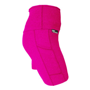 Hot Pink Yoga Knit