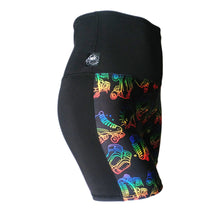Split Lift Short, Rainbow Skates & Black