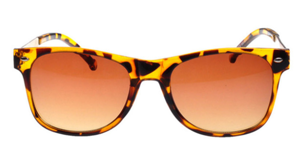 Metal Framed Wayfarer Sunglasses