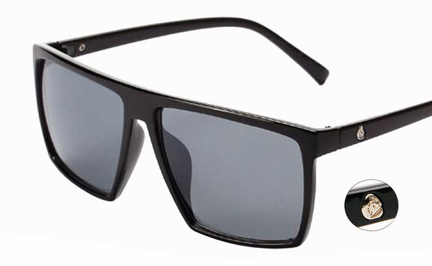 Oversized Squared Framed Sunglasses