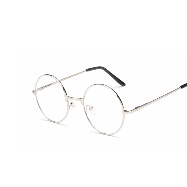 Round Clear Lenses Harry Potter Style Sunglasses