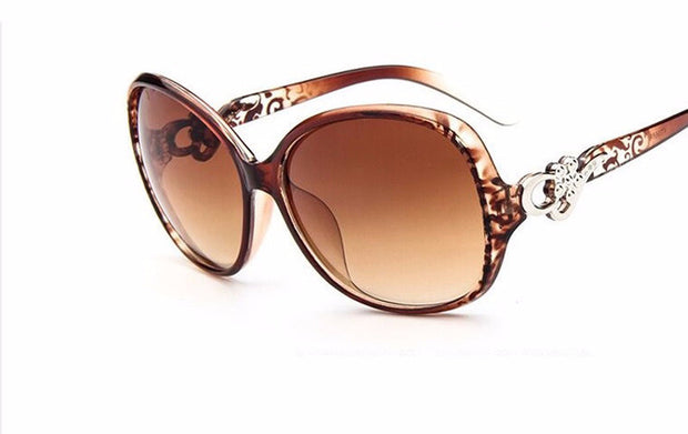 Luxury Oversized Oval Sunglasses