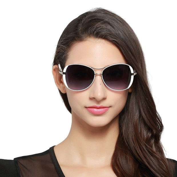 Luxury Oval Sunglasses