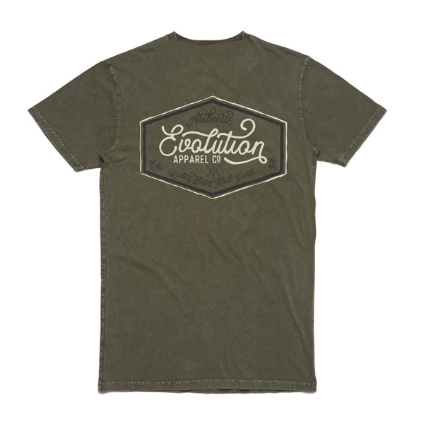 logo tee Acid Wash Army