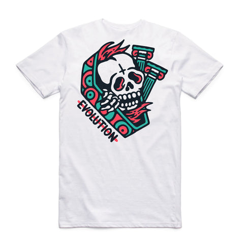Creeper White Tee