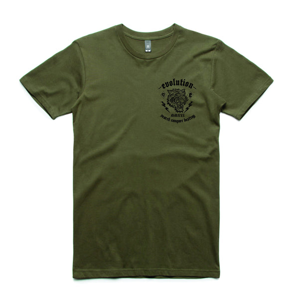 Tiger Tee Army Green