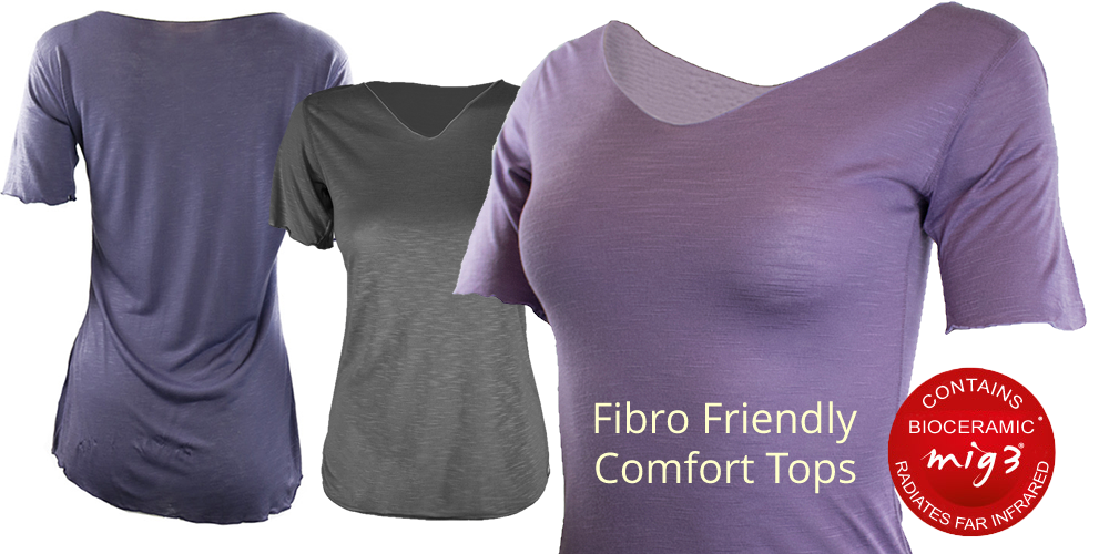 Far Infrared Clothing - Fibro Friendly Invel MC Tops - Comfortable clothes for fibromyalgia
