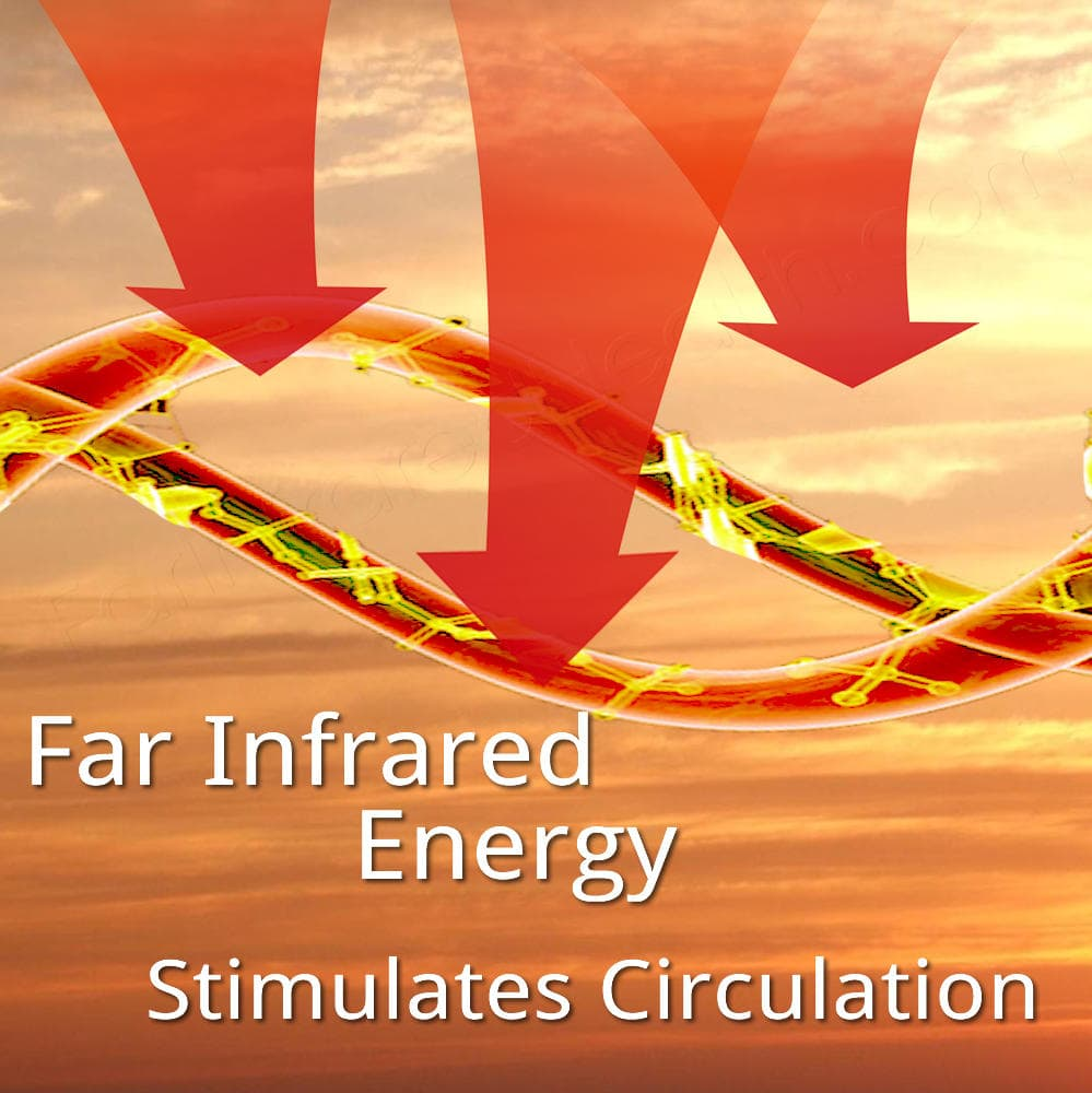 Use the Far Infrared Rays to Improve Your Health and Stimulate Circulation