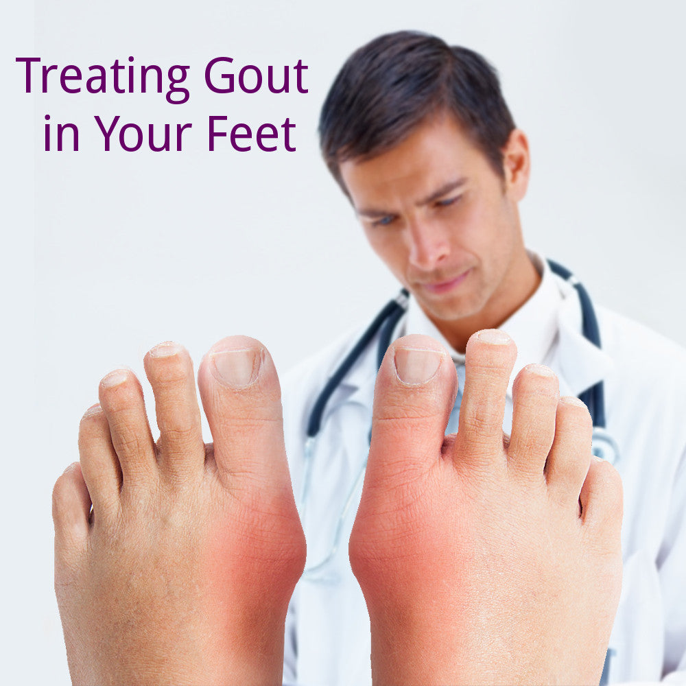Treating Gout in your Feet