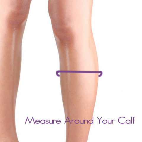 Measure Around Your Calf for best Size