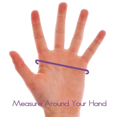Measure Around Widest Part of Hand for Invel Active Gloves