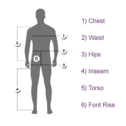 Measure for Men's Products