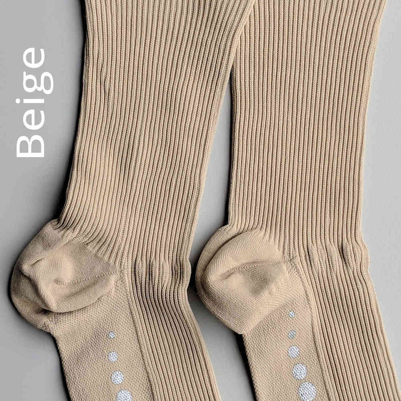 20-30 mmHg Medical Compression Infrared Socks - Heel Cup