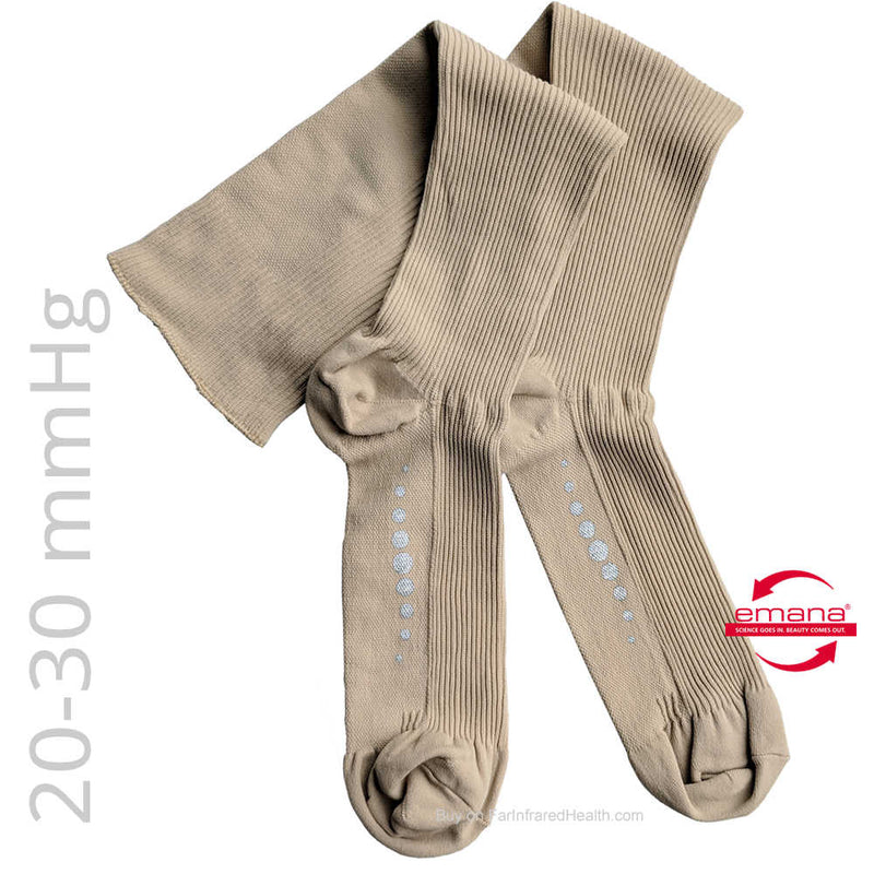 Buy FIRMA 20-30 mmHg Compression Knee High Medical Infrared Socks