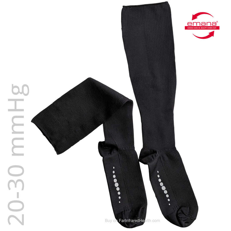 BUY Infrared 20-30 mmHg Compression Bio-Crystal Socks