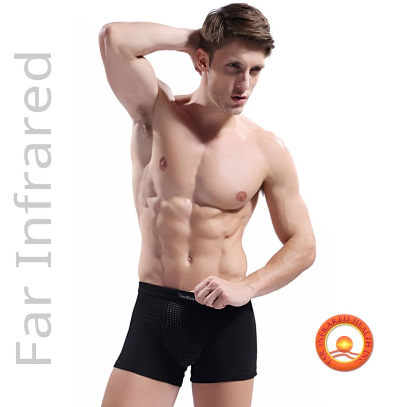 Infrared Underwear Bio-Ceramic Boxer Briefs for Men