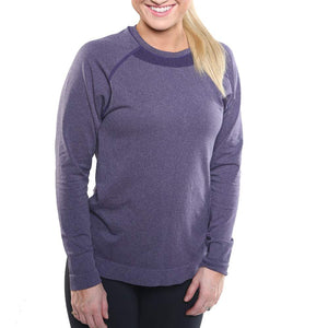 Circulation Crew Neck Long Sleeve Energy Shirt for Women