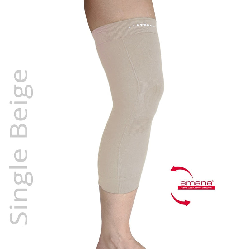 Compression Infrared Knee Band in Beige - One - Emana Fiber