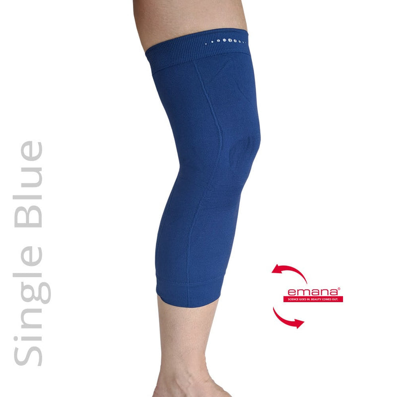 Compression Infrared Knee Band in Navy Blue - One - Emana Fiber