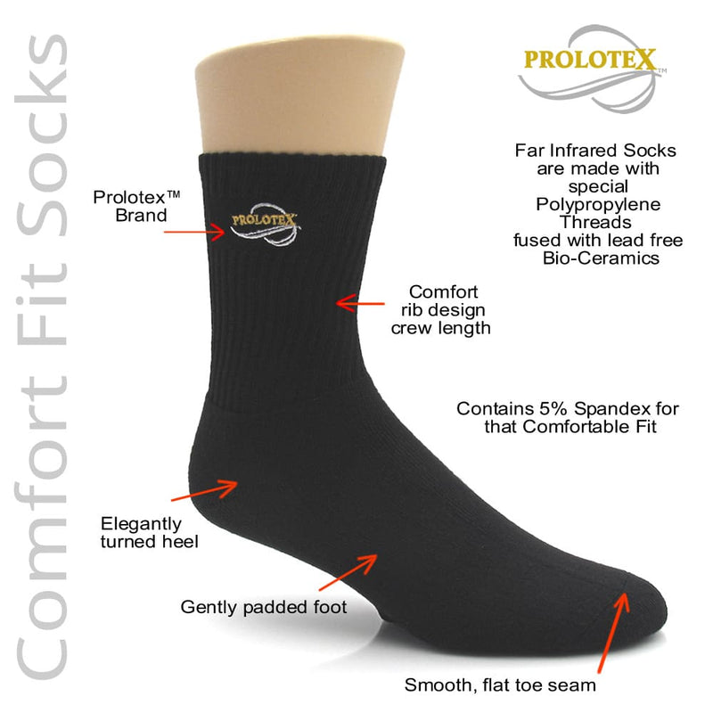 Far Infrared Socks COMFORT FIT Socks - Features