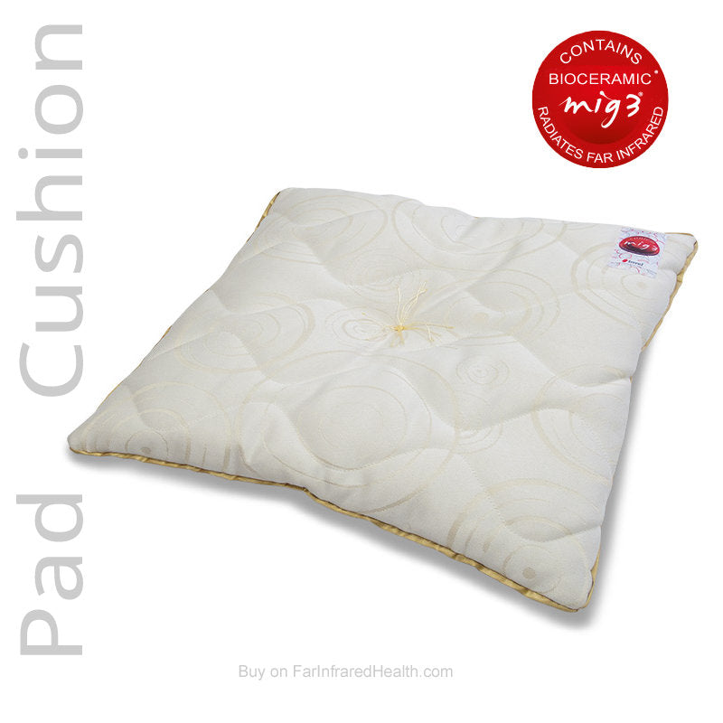 Far Infrared emitting Invel Bioceramic Comfort Cushion - Actiive Seat Pad