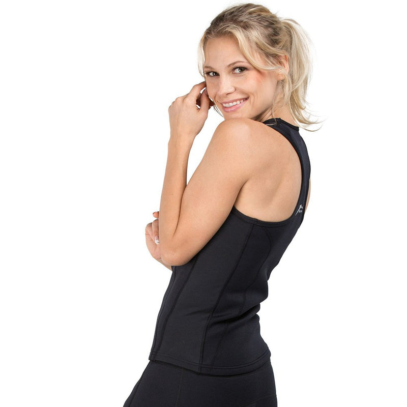 Racer Back Bio-Ceramic Tank Top Ladies - Black